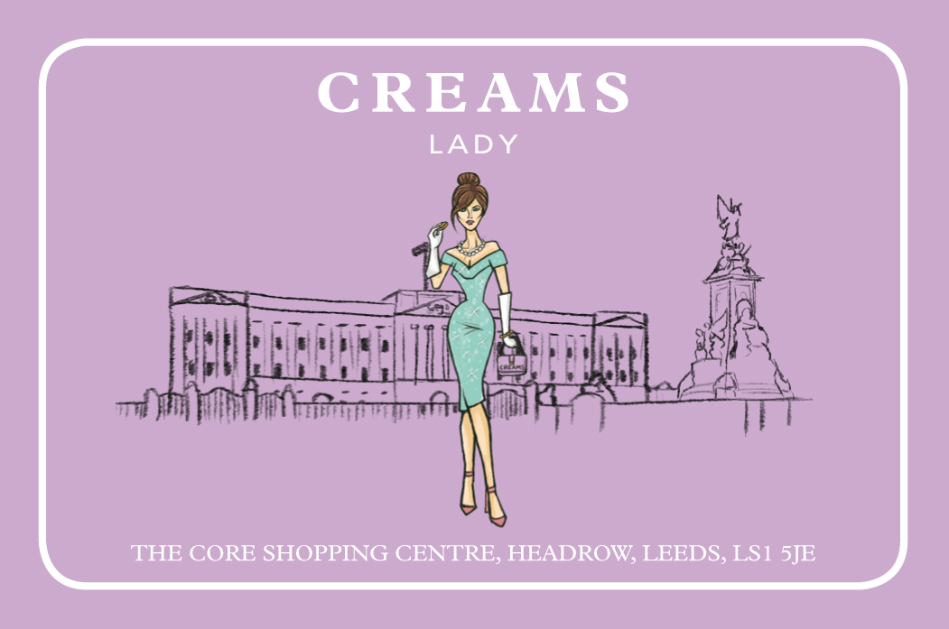 lady creams front loyalty card copy